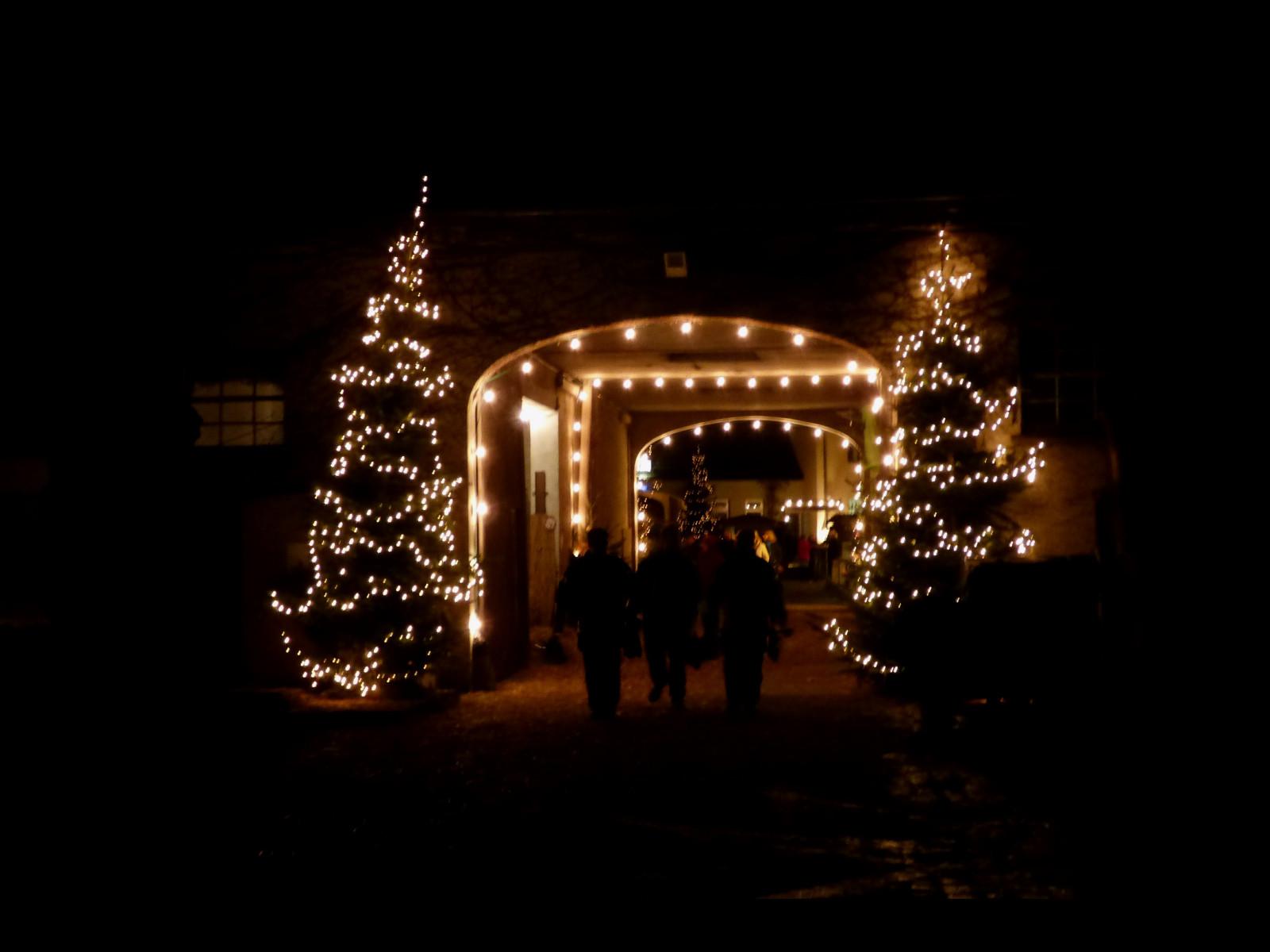 Weihnachtsmarkt auf dem Scholtenhof in Dinslaken