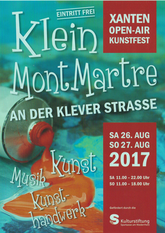 26 August Xanten Kunstmarkt
